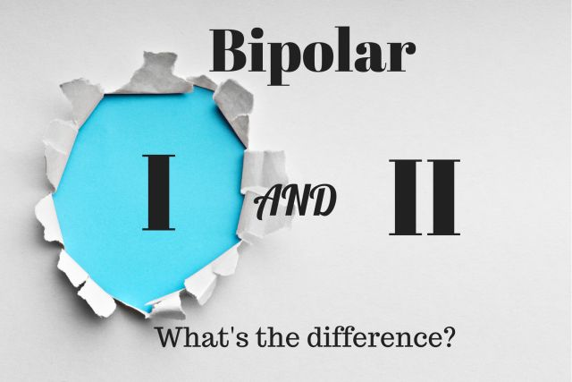 """Bipolar I and Bipolar II - What's the Difference? I think this is the only thing I'm a """"1"""" in!"""