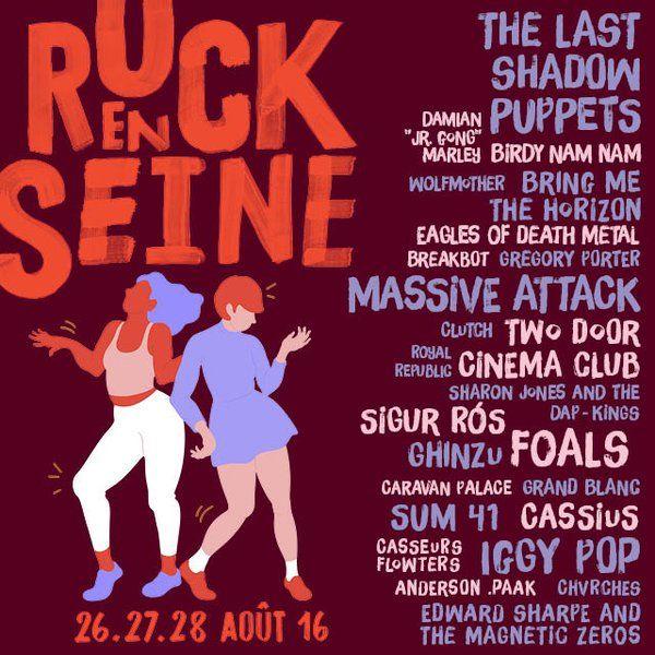 Festival @rockenseine : Ouverture de la billetterie le 24 mars 2016 !