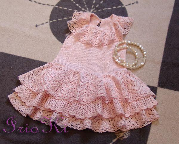 Платье для девочки от IrioKi + описание