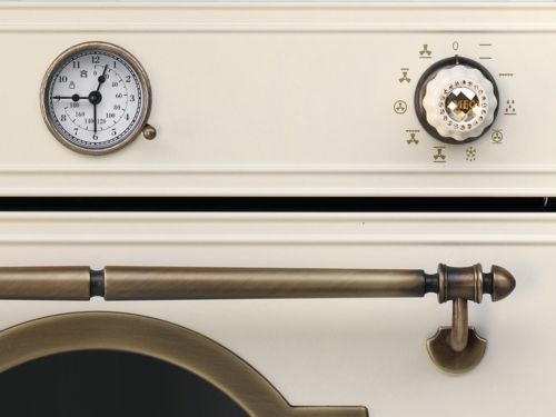 Smeg-SF750POL-Backofen-Creme-Beige-Nostalgie-Heissluft-Einbaubackofen-Einbauherd