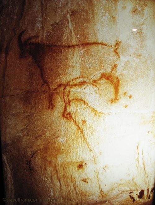 grotte de COUGNAC -  près de Cahors et de Pech Merle - France