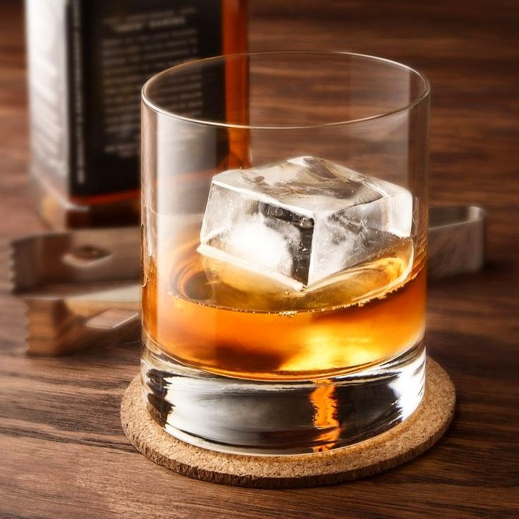 There is nothing worse than watered down whiskey. Don't try to convince us otherwise. Thankfully we found an alternative solution for a good glass of that liquid gold. These ice cube moulds are large enough to quickly cool down your drinks, and melt down slower, reducing the chances of having a bland whiskey.