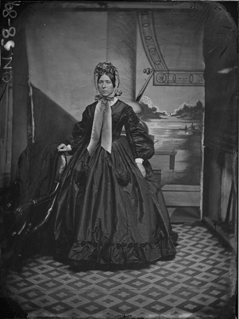 Australian fashion history. The 1860s brought the invention of glass-plate negatives, which meant that photographs were reproducible and more widely distributed. It meant that women were able to see a broader cross-section of fashions and became more fashion conscious as a result (Parramatta ca. 1865). Photo Credit: Henry William Burgin II/State Library of NSW