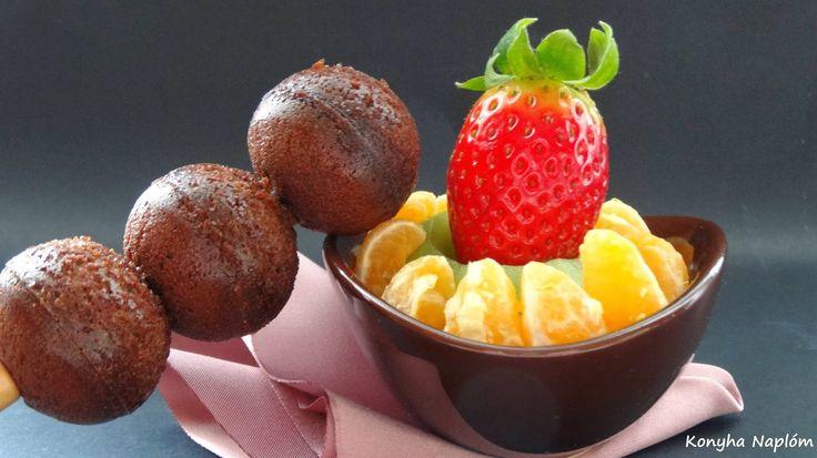 Konyha Naplóm: Brownie golyók (fehér csokoládéval és gyümölccsel)...