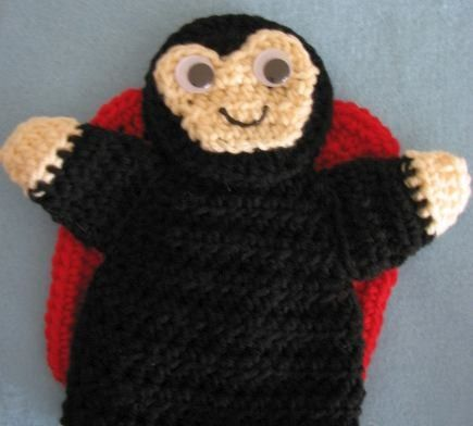 Ladybug Puppet Scarf Ready To Ship and by DonnasCrochetDesigns, $32.50
