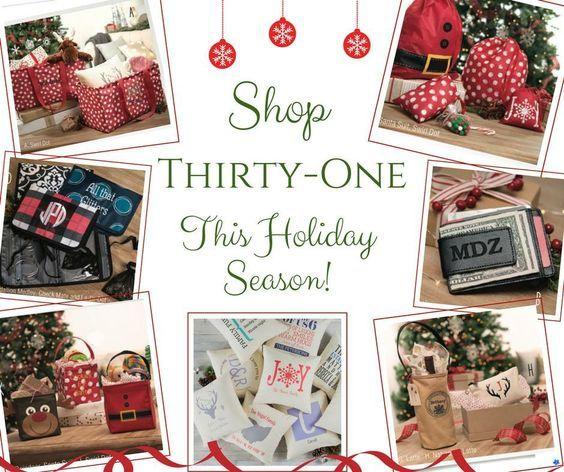 Shop Thirty-One Gifts this Holiday Season! #ThirtyOneGifts #ThirtyOne #Monogramming #Organization #NovemberSpecial #ZipTopOrganizingUtilityTote #ZipperPouch