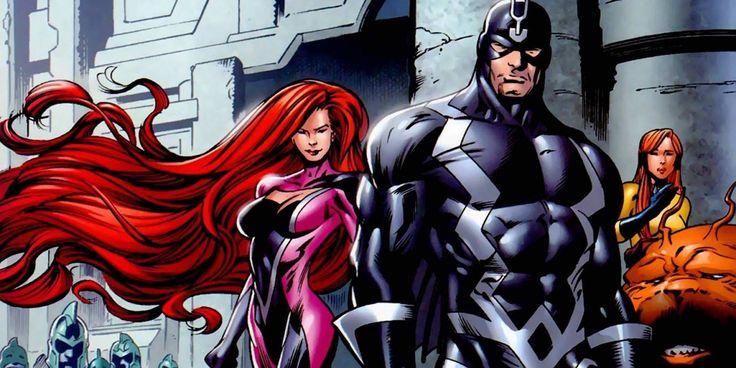 Inhumans Set Photos Reveal Black Bolt Costume & Pre-CGI Lockjaw