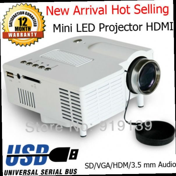 47.03$  Buy here - http://alios7.worldwells.pw/go.php?t=1819244424 - Digital Mini LED Projector Built In Speaker HDMI USB Video Projecteur Portable Beamer Projektor Children Game Gifts Proyector 47.03$