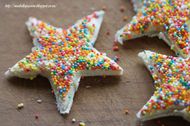 Mia Bella Passions: Let Me Tell You All About 'Fairy Bread'...