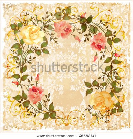 stock vector : vintage greeting card. eps 10
