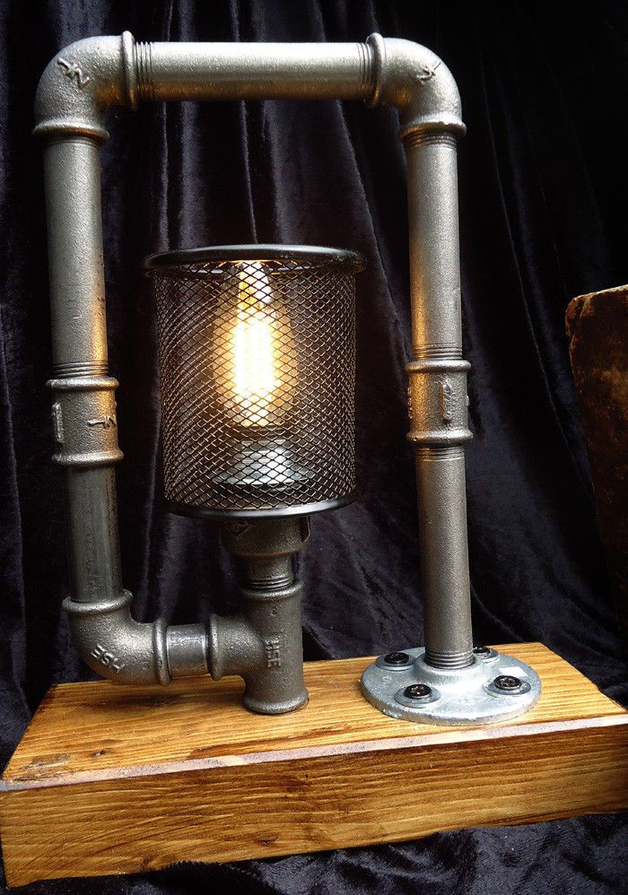 Tischleuchte Indianapolis Tischlampe Industriedesign Vintage Loft