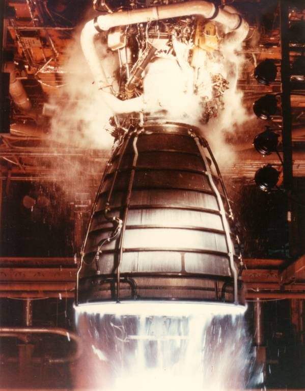 space shuttle engines firing - photo #9