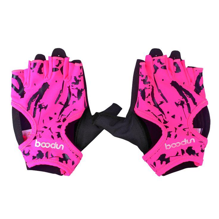 サイクリング自転車手袋女性滑りにくいハーフフィンガー手袋用サイクリングボディビル体重トレーニングfintness