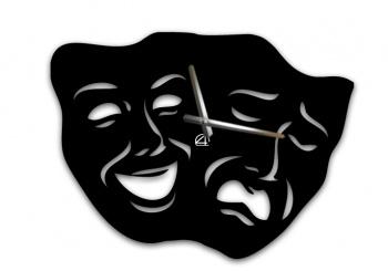 Настенные часы маски1 http://4asiki.in.ua/original/37-originalnye-nastennye-chasy-maski.html