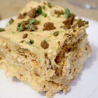 """Peppermint Crisp fridge tart - local really is """"lekker"""" - Cooksister"""
