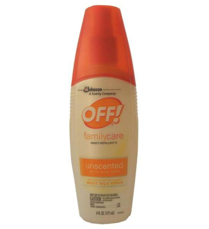 Off 01835 Insect Repellent Deet Spray, 6 oz