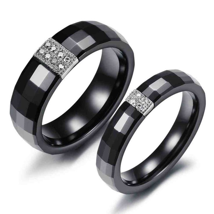 Beautiful Tungsten Matching Wedding Bands His Hers