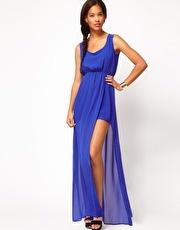 ASOS Maxi Dress With Thigh Split  www.asos.com