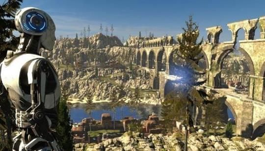Out Now for Oculus Rift and HTC Vive, The Talos Principle VR: The Road to Gehenna DLC is included.
