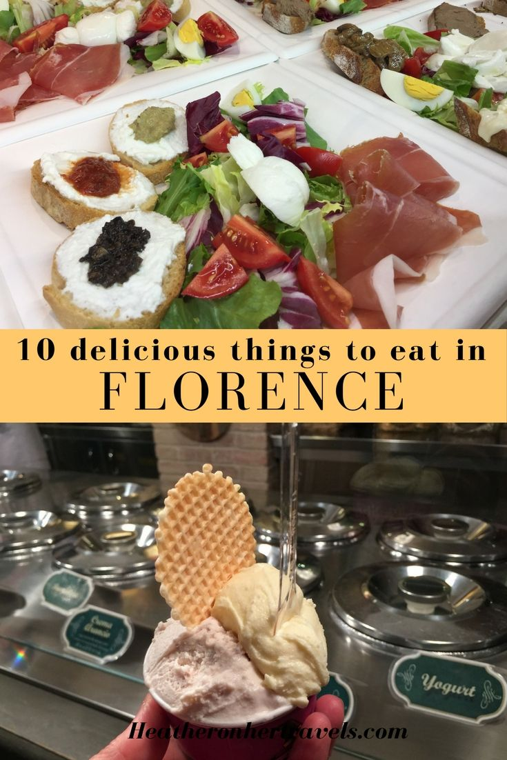 Read about the 10 delicious things I recommend you try in Florence