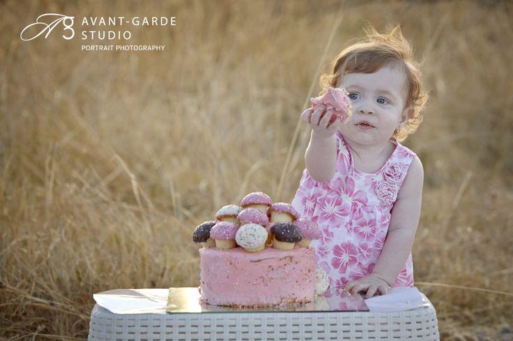 {Sadie's Cake Smash} Newman Portrait Photographer