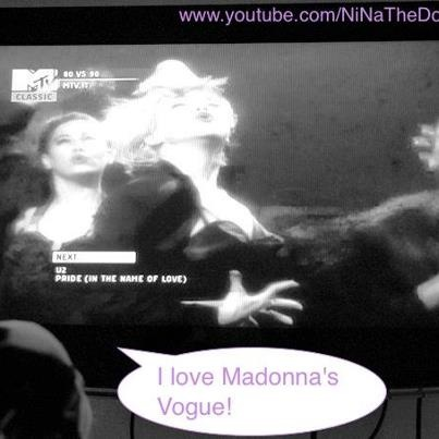 Learning #Madonna #Vogue performance...