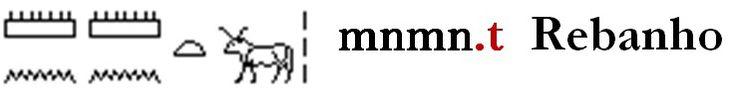 - Colectivos Os traços verticais determinativos de plural (Z2) também eram empregados para informar que uma dada palavra referia-se a um grupo, ou colectivo. Nesses casos, ela será tratada como um caso de singular e será transcrita como tal. Assim, o determinativo não será transcrito. Ex.: