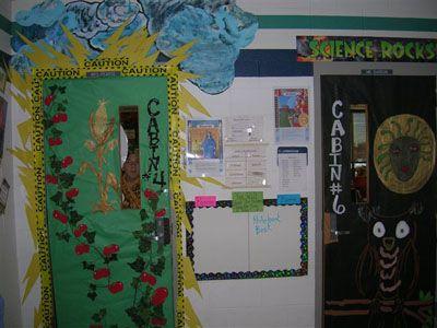 Percy Jackson C& Half Blood cabin door decorating contest & 18 best Classroom Door Decorations images on Pinterest   Classroom ...