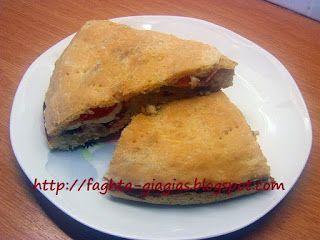 Τα φαγητά της γιαγιάς - Πίτσα σκεπαστή (καλτσόνε - calzone) με κατσικίσιο τυρί