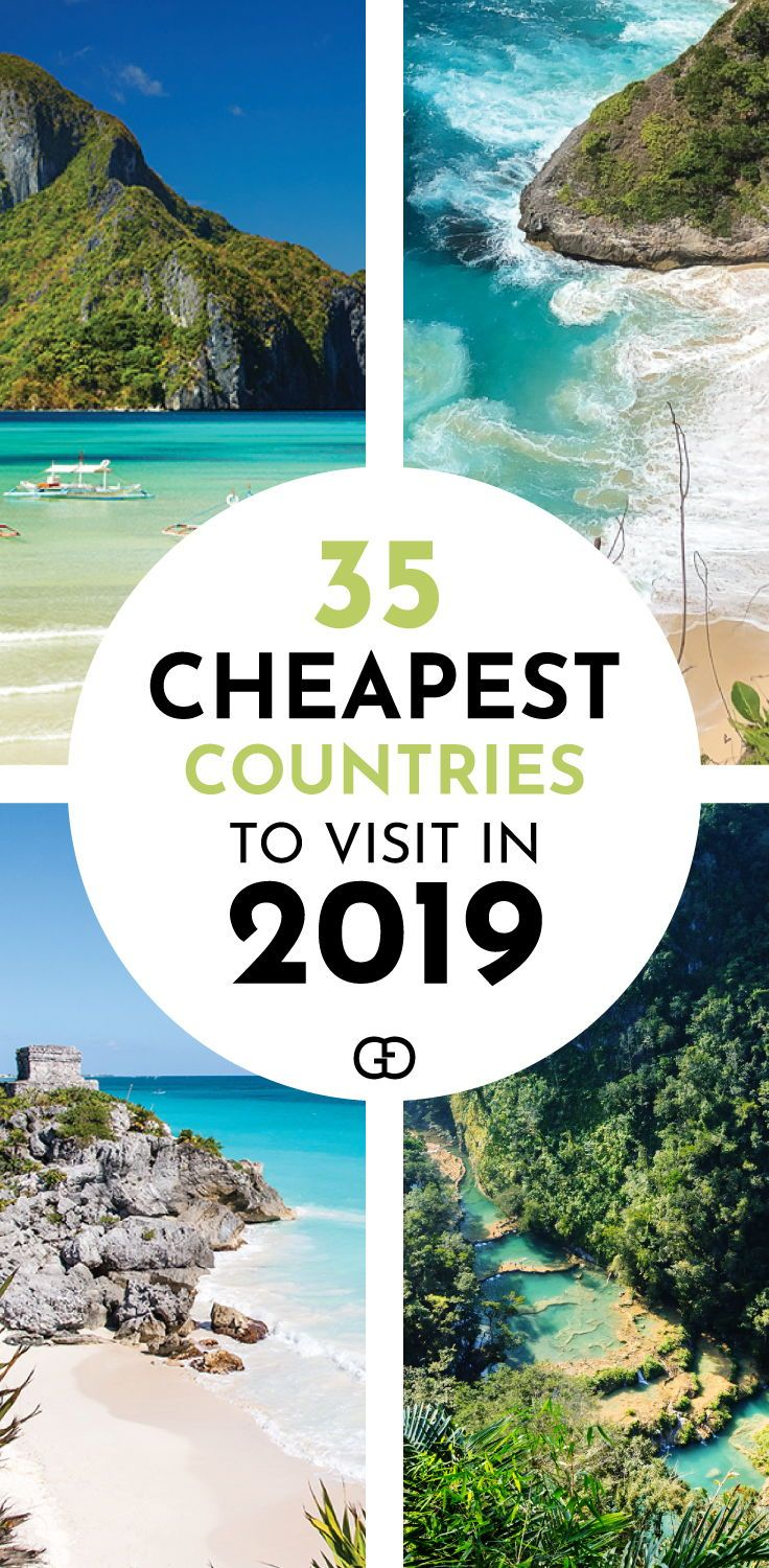 35 Cheapest Countries To Visit In 2020 Cheap Places To Travel Summer Travel Destinations Countries To Visit