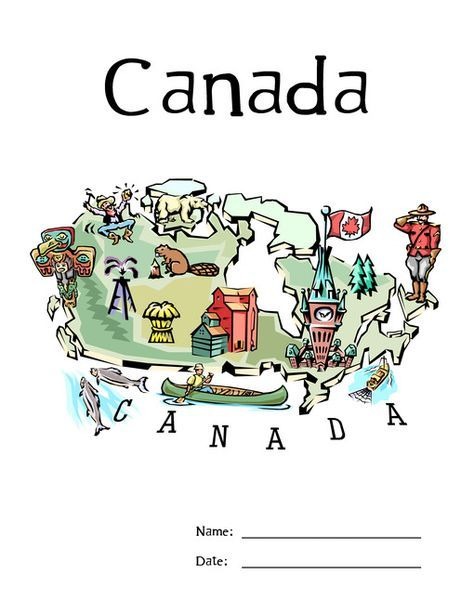 FREE Lapbook about Canada-great for our unit study!