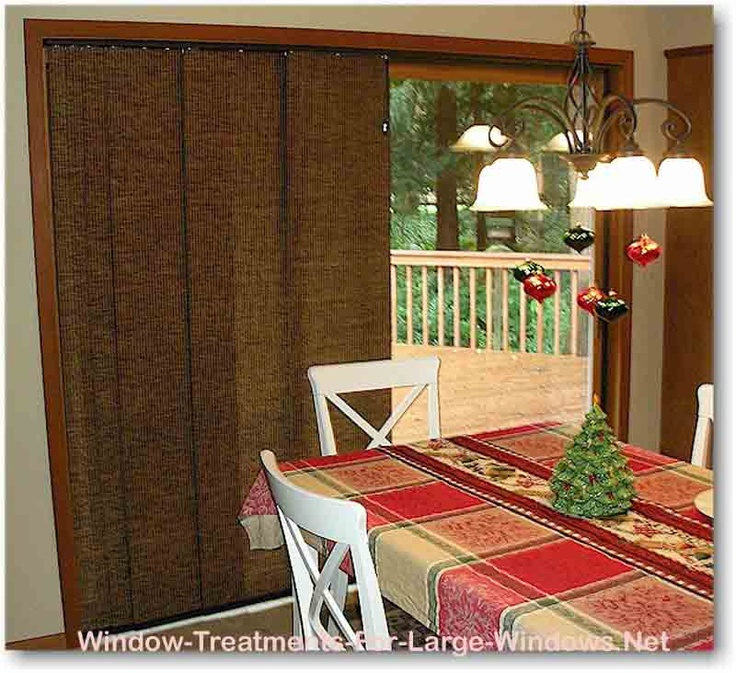 Best Vertical Blinds Images On Pinterest Window Coverings - Hunter douglas blinds for patio doors