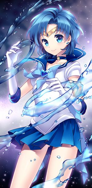 Sailor Mercury - Sailor Moon