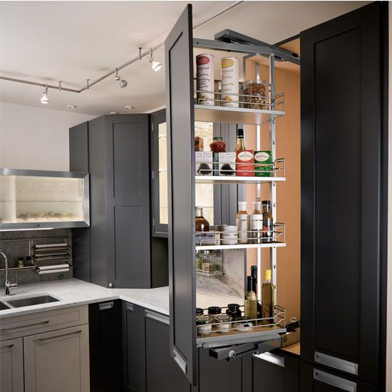 Kitchen Storage Ideas Cabinets Appliance Garage