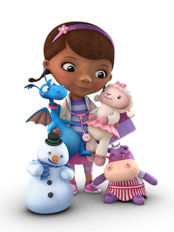 Personagens Dra Brinquedos.   Manny mãos à obra e Doutora ...