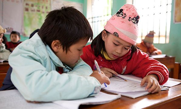 Six Study Sets: Many families living in mountainous areas of Vietnam can't afford their children's school essentials. This gift will help six children study hard with a pen, writing book, eraser, ruler and pencil case.