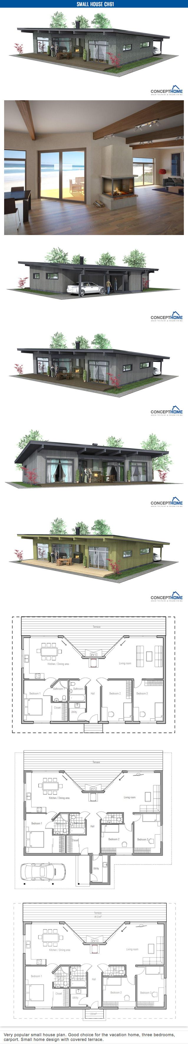 Wedge house plans