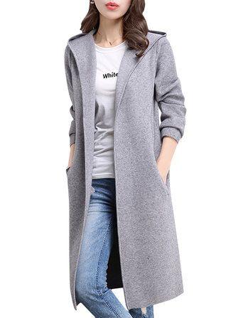 Casacos Outerwear Baratos, Comprar Roupa De Inverno Para Mulheres Wholesale Online-Recommend - Banggood.com