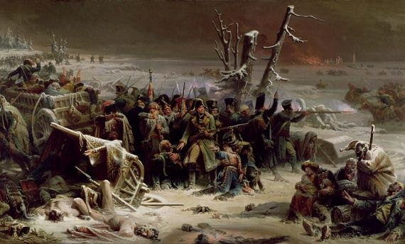 Défense désespérée (Berezina 1812)