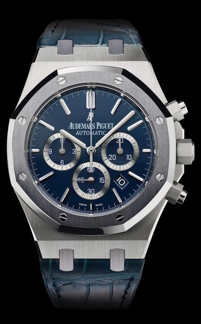 ROYAL OAK LEO MESSI PLATINUIM, Audemars Piguet Timepieces and Luxury Watches on Presentwatch