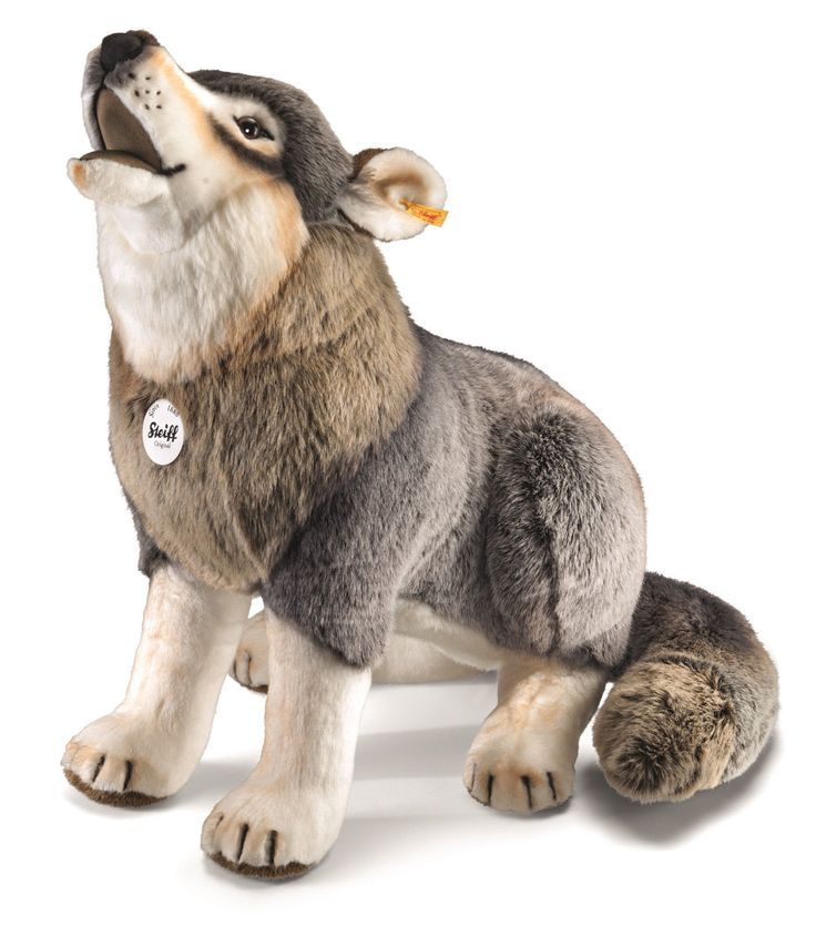 Steiff Studio Snorry Wolf Ean 075759 Nwt Plush Stuffed