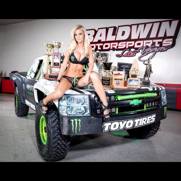 #MonsterEnergy Baldwin Motorsports #ToyoTires #TrophyTruck with Monster Energy model