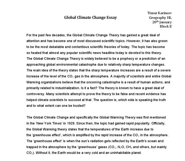Global Warming Man Made Or Natural Essay - Submission specialist