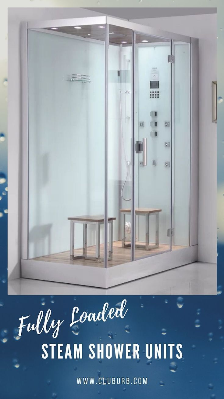 10 Best Steam Shower Units Enclosures 2020 Steam Shower Units