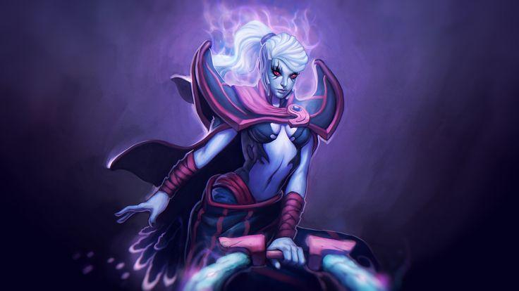 Vengeful Spirit: The Banished Princess Wallpaper, more: http://dota2walls.com/vengeful-spirit/vengeful-spirit-the-banished-princess-wallpaper