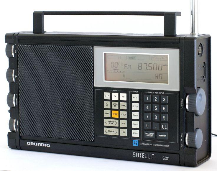 Grundig Satellit 500 World Radio Receiver Radios