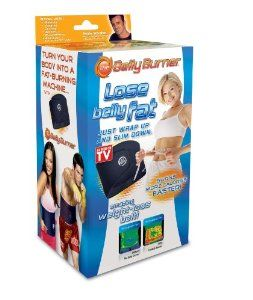 Belly Burner Weight Loss Belt, Black, One Size Fits All Up To 50-Inches http://www.amazon.com/dp/B00313WE9S/?tag=pmpin-20