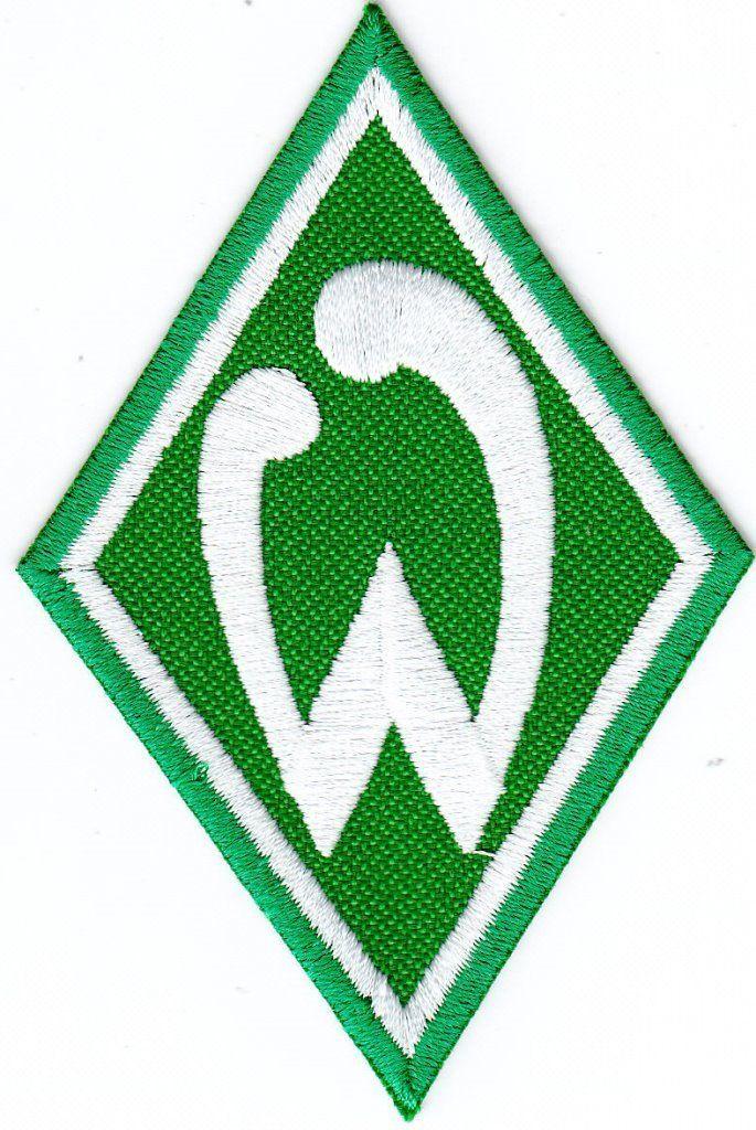 """AUFNÄHER + SV WERDER BREMEN + Raute + Logo + Signet + """"W"""" + Kult + NEU +"""