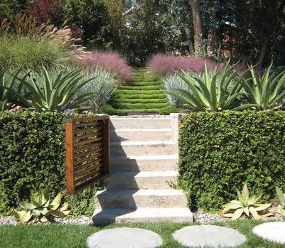 Dise os de jardines peque os y antejardines dise o de - Diseno de patios y jardines ...