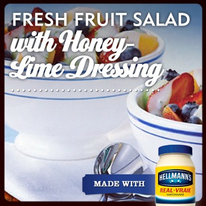 A recipe to take advantage of all of the fresh fruit popping up in the supermarket these days!